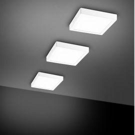 Plafoniere cu spoturi, Spoturi aplicate - Aplica perete sau tavan cu iluminat LED SURFACE 3000K, 22,5x22,5cm