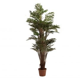 Aranjamente florale LUX - Planta artificiala decorativa Bambu, 196cm