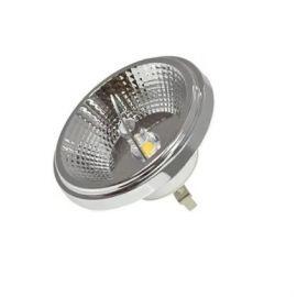 Becuri G4/G9/GX - Bec LED QR111 / 12V BULB CHROME / 12W / 4000K