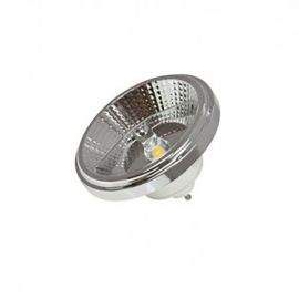 Becuri GU10 - Bec LED ES111 BULB CHROME / 12W / 3000K