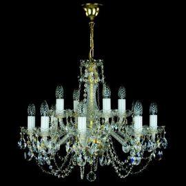 Lustre Cristal Bohemia - Candelabru 12 brate Cristal Exclusiv CARMEN
