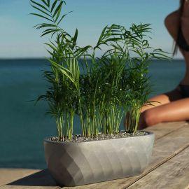 Vaza / Ghiveci de flori / plante / exterior / interior design modern premium VASES NANO PLANTER 14x33x12