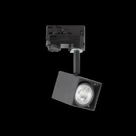 Spoturi, Proiectoare pe sina - Spot directionabil pentru sina Link MOUSE TRACK NERO
