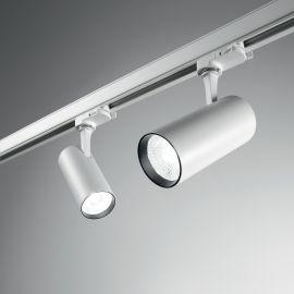 Spoturi, Proiectoare pe sina - Spot LED directionabil pentru sina Link, FOX 08W CRI80 41° 3000K WH