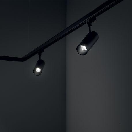 Spoturi, Proiectoare pe sina  - Spot LED directionabil pentru sina Link, FOX 08W CRI80 41° 3000K BK