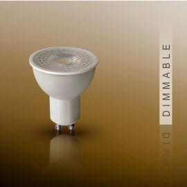 Bec DIMMABLE LED dicroic GU10, 7W 3000K