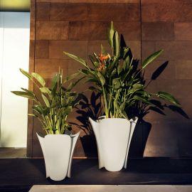 Ghiveci flori / Jardiniera plante de exterior / interior design modern premium PEZZETTINA PLANTER 50x50x50