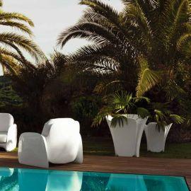 Ghiveci flori / Jardiniera plante de exterior / interior design modern premium PEZZETTINA PLANTER 85x85x85