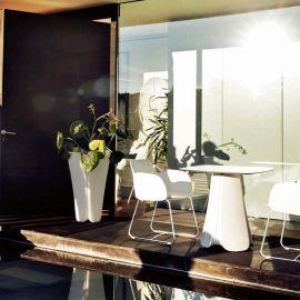 Ghiveci flori / Jardiniera plante de exterior / interior design modern premium PEZZETTINA PLANTER 50x50x85