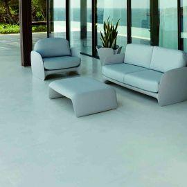 Fotoliu de exterior / interior design modern premium PEZZETTINA LOUNGE CHAIR