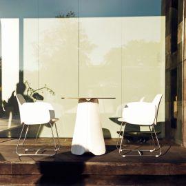 Masa de exterior / interior design modern premium PEZZETTINA TABLE 70x70x73