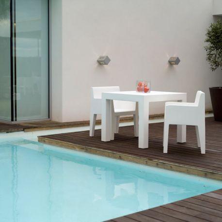 Scaune - Scaun cu brate de exterior / interior design modern premium JUT ARMCHAIR