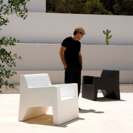 Fotoliu de exterior / interior design modern premium JUT LOUNGE CHAIR