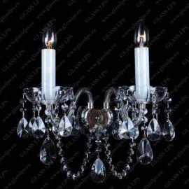Aplice Cristal Bohemia - Aplica eleganta cu 2 brate cristal Bohemia