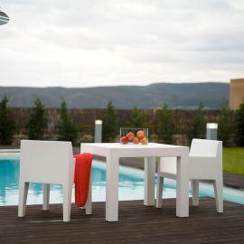 Mese - Masa de exterior / interior design modern premium JUT TABLE 90x90cm