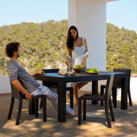 Mese - Masa dining de exterior / interior design modern premium JUT TABLE 180x90cm