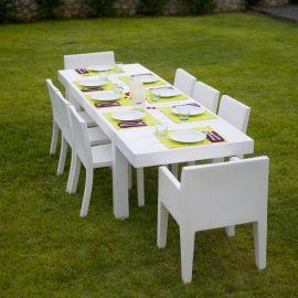 Mese - Masa dining de exterior / interior design modern premium JUT TABLE 280x90cm