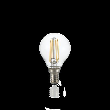 Becuri E14 - Bec LED dimabil E14 04W SFERA TRASP 3000K