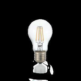 Becuri E27 - Bec LED dimabil E27 08W GOCCIA TRASP 3000K