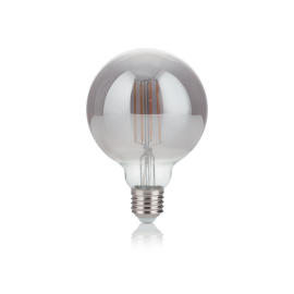 Becuri E27 - Bec LED E27 VINTAGE 04W GLOBO D095 FUME' 2200K