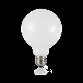 Becuri E27 - Bec LED dimabil E27 08W GLOBO D095 BIANCO 3000K