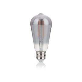 Becuri E27 - Bec LED E27 VINTAGE 04W CONO FUME' 2200K