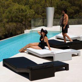 Sezlonguri - Sezlong plaja design modern premium JUT SUN CHAISE