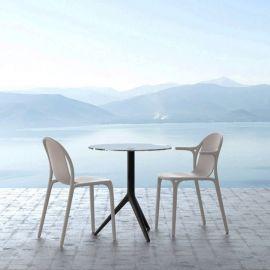 Scaune - Set de 4 Scaune de exterior / interior design modern premium BROOKLYN CHAIR