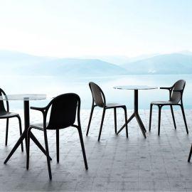 Scaune - Scaun cu brate de exterior / interior design modern premium BROOKLYN CHAIR with armrests