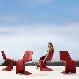 Scaune - Set de 4 Scaune ultra-moderne de exterior / interior design premium VOXEL CHAIR