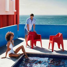 Set de 4 Scaune cu brate ultra-moderne de exterior / interior design premium VOXEL ARMCHAIR