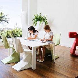 Articole pentru copii - Set de 4 Scaune copii ultra-moderne de exterior / interior design premium VOXEL MINI CHAIR