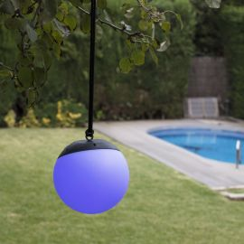 Lampi decorative si solare  - Lampa LED RGB portabila iluminat exterior decorativ IP44 VOILA