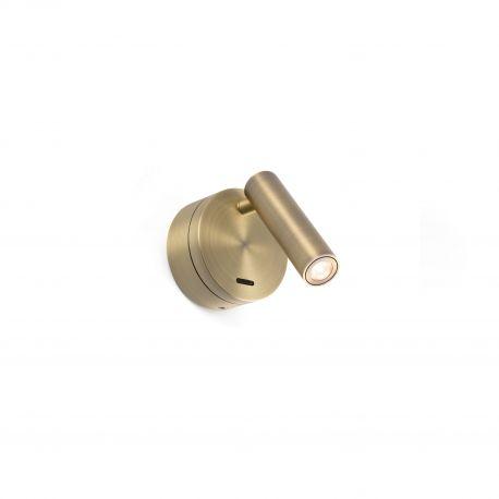 Aplice cu Spot - Aplica moderna cu reader LED design minimalist BOC bronz