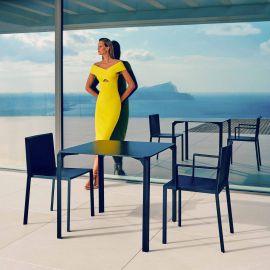 Set de 4 Scaune moderne de exterior / interior design premium QUARTZ CHAIR