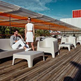 Set de 4 Scaune moderne de exterior / interior design premium SOLID LOUNGE CHAIR