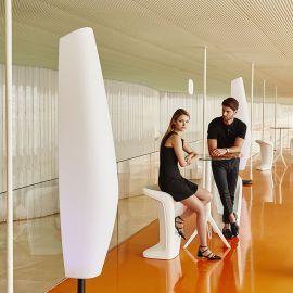 Scaun de bar exterior / interior design modern premium UFO BAR STOOL