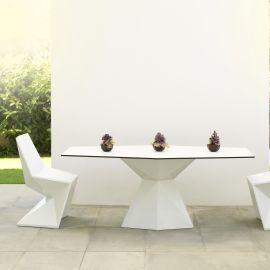 Mese - Masa dining de exterior / interior design ultra-modern premium 180x94cm VERTEX