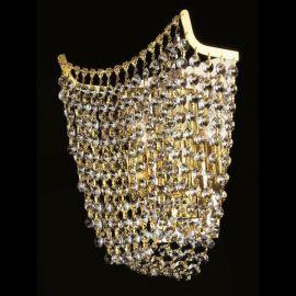 Aplica cristal Bohemia Hortensie I. WL