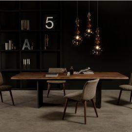 Masa eleganta design LUX Manhattan lemn 200x106cm
