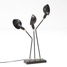 Veioza/ Lampa de masa design elegant Black/Bronze