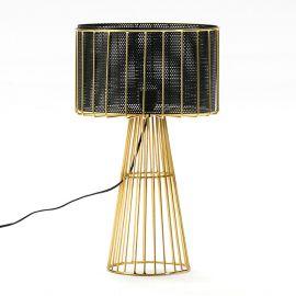 Veioza/ Lampa de masa design elegant Golden