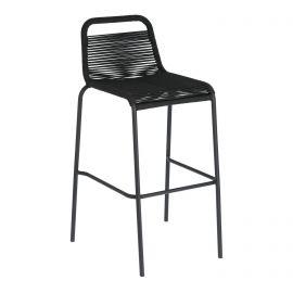 Scaune - Scaun bar pentru interior sau exterior GLENVILLE 74cm negru