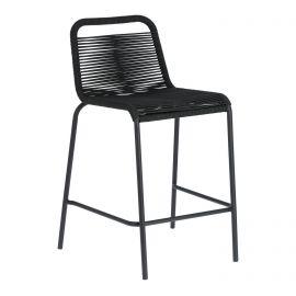 Scaune - Scaun bar pentru interior sau exterior GLENVILLE 62cm negru