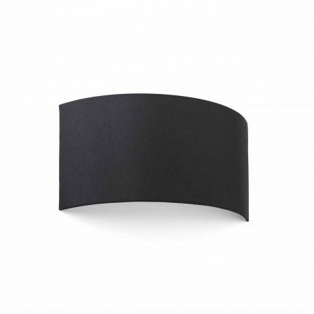 Aplice, corpuri de iluminat pentru pereti - Aplica de perete ambientala design modern COTTON round 2L neagra