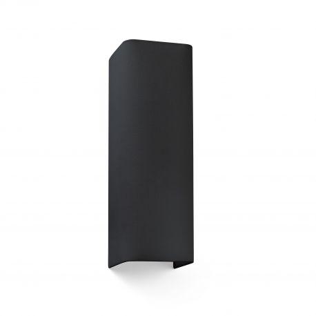 Aplice, corpuri de iluminat pentru pereti - Aplica de perete ambientala design modern COTTON 2L neagra