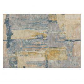 Covor design clasic Aida albastru, 290x200cm