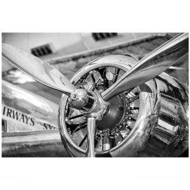 Tablouri - Tablou decorativ, imagine imprimata pe sticla calita ENGINE 120x80cm