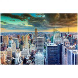 Tablouri - Tablou decorativ, imagine imprimata pe sticla calita NEW YORK 120x80cm
