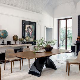 Mese dining - Masa eleganta design LUX Tokyo 300x120cm